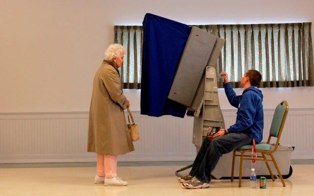 Штатам, возможно, придется девять месяцев ждать федеральной помощи в обеспечении безопасности избирательных систем