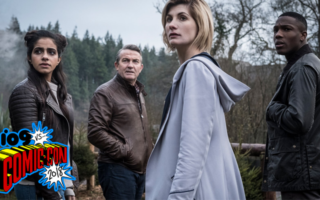 ジョディ・ウィテカーが新シーズンの最初の見事な予告編でTARDISのドクター・フーに登場