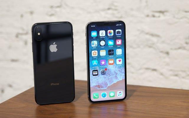 Ne soyez pas surpris si l'iPhone X s'en va