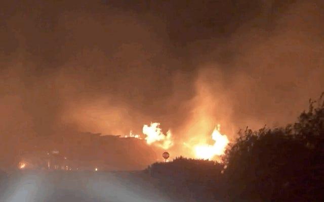 Kebakaran Hutan Bersejarah Mengepung Oregon, California, dan Washington