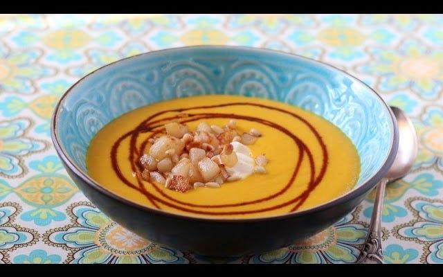 鍋なしで濃厚なロースト野菜スープを作る