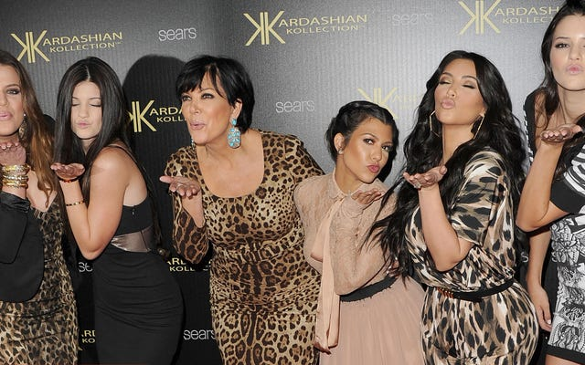 Un divorzio Kardashian costruito per durare un milione di anni