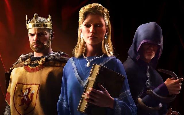 Crusader Kings IIIはまもなく、Moddersに同性結婚を作成させます
