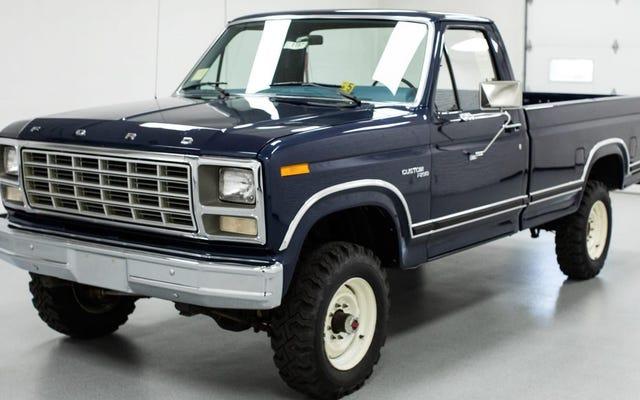 Quelqu'un a dépensé 97000 $ pour ce ravissant Ford F-250 1980