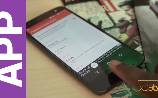 L'azione rapida dell'impronta digitale porta i gesti dell'impronta digitale del Pixel su qualsiasi telefono