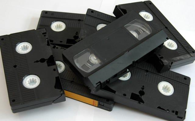 Non buttare via i tuoi nastri VHS