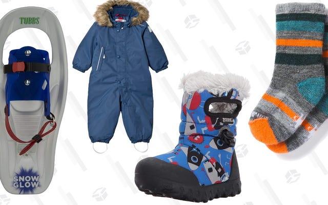 Jaga Balita Anda Tetap Hangat Pada Sepatu Salju Anda Berikutnya: Perlengkapan Terbaik