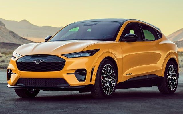 La Ford Mach-E GT Performance Edition de 480 HP puede seguir el ritmo del Tesla Model Y Performance