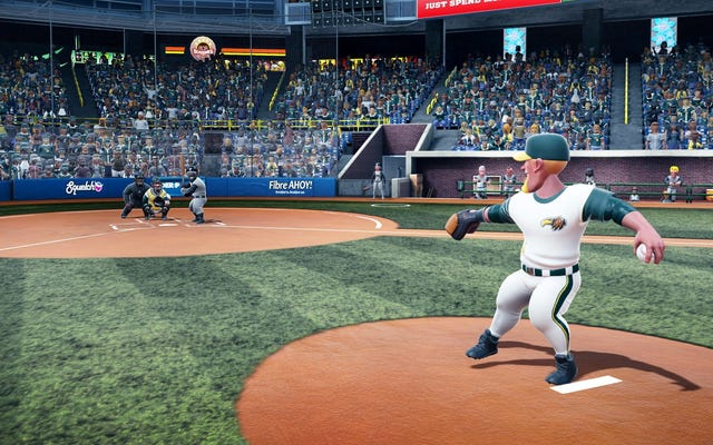 Apparemment, vous pouvez simplement assassiner des lanceurs dans ce jeu vidéo de baseball