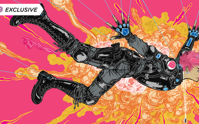 Duncan Jones dan Alex de Campi tentang Why Comics Was the Next Place for Moon and Mute's World to Go