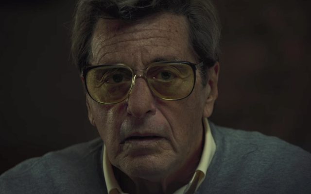 Al Pacino, HBO'nun ilk Paterno fragmanı için 100 yarda bakış açısını bozdu