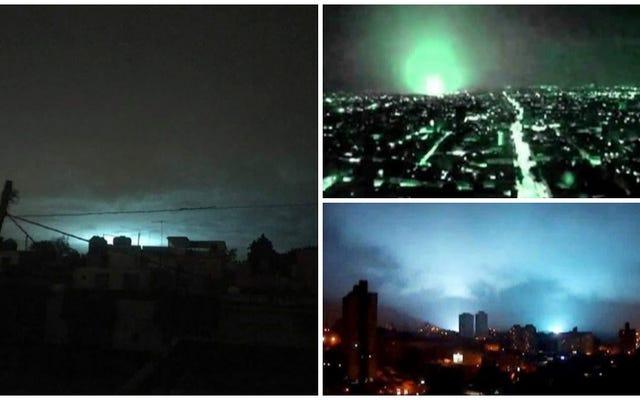 Perché le luci sono apparse nel cielo durante il terremoto di magnitudo 8.2 in Messico