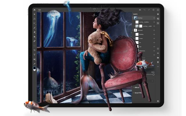 iPad用のPhotoshopをダウンロードできるようになりました