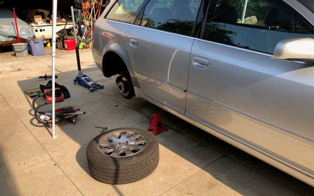 Đây là tất cả những gì tôi đã làm trong năm nay để giữ chiếc Audi A6 cũ của tôi trên đường