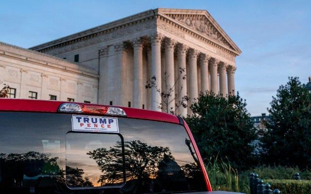 Mahkamah Agung AS Menolak Tawaran GOP untuk Membatalkan Hasil Pemilu Pennsylvania; Mahkamah Agung Nevada Juga Menggeser ke Kiri