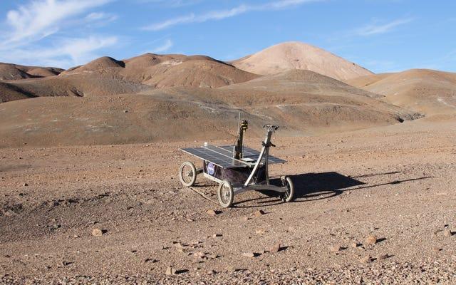 Nhiệm vụ mô phỏng ở sa mạc Chile cho thấy cách một chiếc Rover có thể phát hiện ra sự sống trên sao Hỏa
