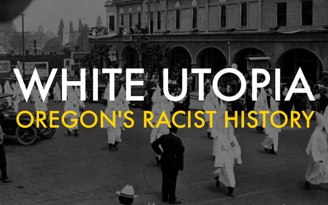 Oregon Didirikan Sebagai Utopia Rasis