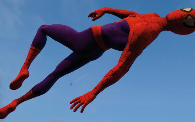 スパイダーマンPS4のスパイダーバースコスチュームに良い意味で私の脳を壊しています