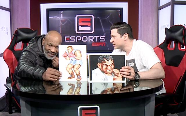 Mike Tyson กล่าวว่าเขาเพิ่งเรียนรู้เกี่ยวกับ Balrog ใน Street Fighter II