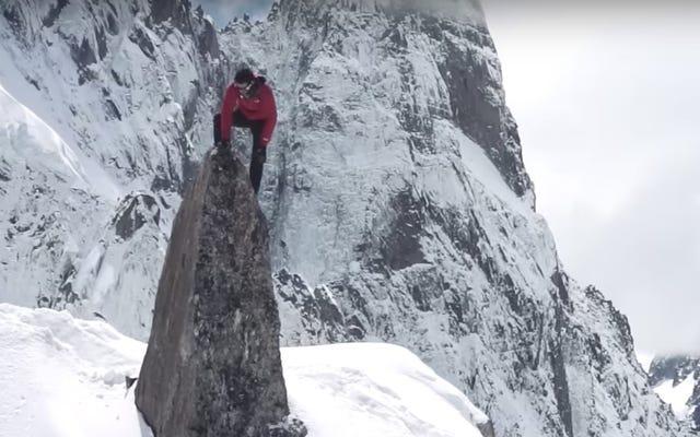Nuevo monte sin asistencia. Récord de velocidad en el Everest establecido por el ultramaratonista español Kilian Jornet