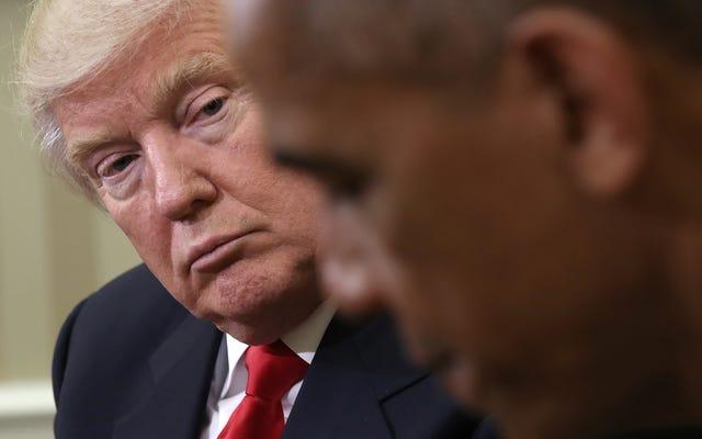 トランプはオバマの良い名前に嘘をつき続け、前大統領が国境で移民家族を分離したと主張する