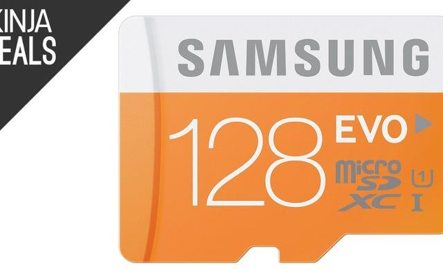 Знаковые карты Samsung MicroSD поступили в продажу сегодня