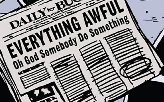 マーベルは秘密の戦争を試みて説明するために偽の新聞を出している