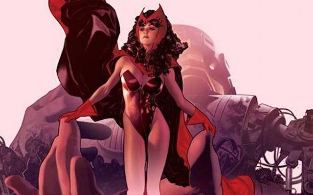 Marvel выясняет происхождение Алой Ведьмы и Ртути: они не мутанты