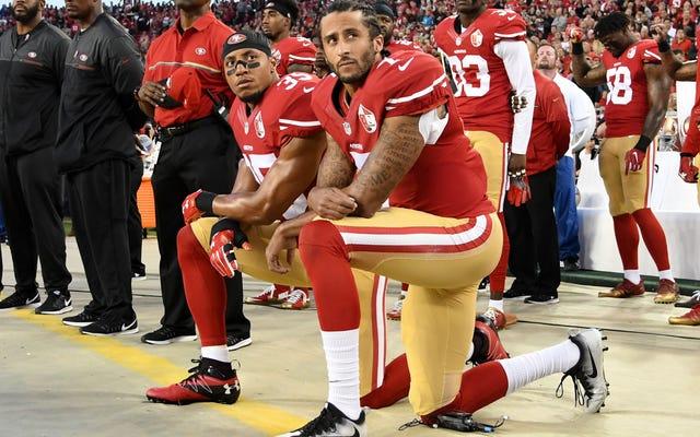 NFLの「社会正義」プログラムは、プレーヤーが強くプッシュするまで違いはありません