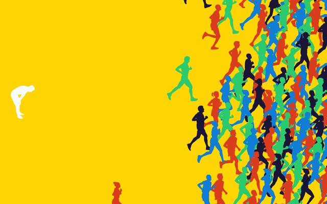 マラソンのためのトレーニングへの普通の人のガイド