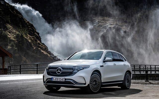 Mercedes-Benz decide che l'EQC non arriverà negli Stati Uniti