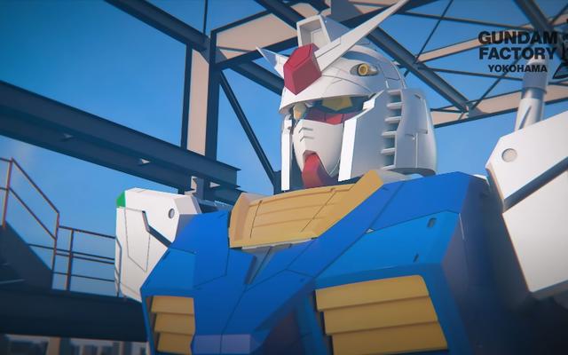 Echemos un vistazo a la última estatua gigante de Gundam de Japón
