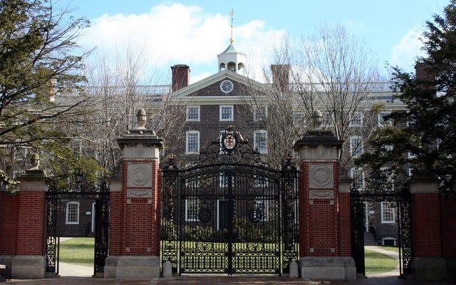 ब्राउन विश्वविद्यालय में स्नातक छात्र दासों से उतरने वाले छात्रों के लिए सुधार के पक्ष में मतदान करते हैं
