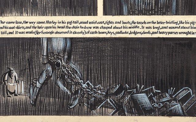 アーティストがハーヴェイ・カーツマンの未完成のクリスマスキャロルグラフィックノベルを半世紀以上後にどのように実現したか