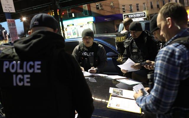 L'ICE ha aumentato drammaticamente gli arresti nei tribunali di New York City