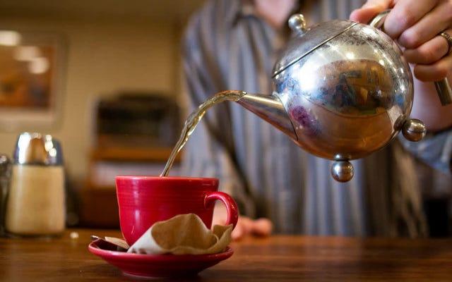研究者は、腸の作用を2倍にするためのプロバイオティクスティーとコーヒーを開発しています