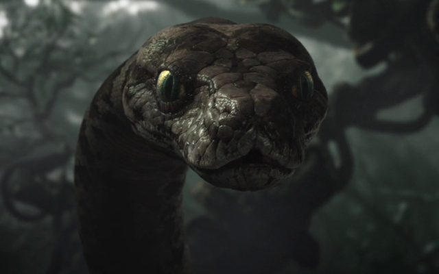 In qualche modo il serpente gigante è ancora l'animale meno strano del libro della giungla