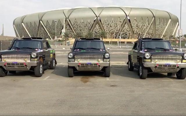 Voici les voitures et camions fascinants qui courent à Dakar pour la première fois cette année