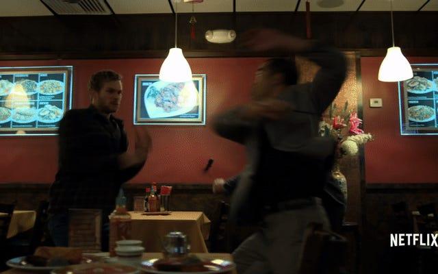 Iron Fist gostaria de lembrá-lo de que as cenas de luta ficarão bem mais frias na segunda temporada
