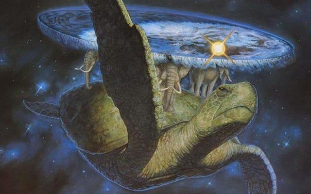Terry Pratchett était Kurt Vonnegut de fiction fantastique, pas son Douglas Adams