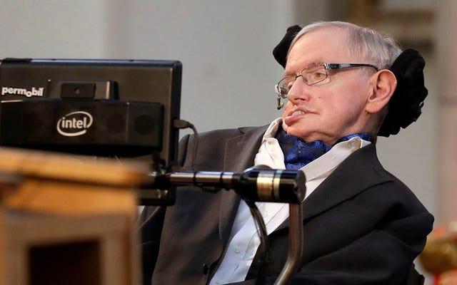 Stephen Hawking exhorte les agences spatiales à se préparer à quitter la Terre d'ici 100 ans