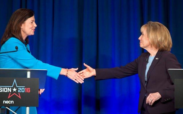 ケリー・エイオットはこの選挙で自分の場所を見つけるのに苦労しています