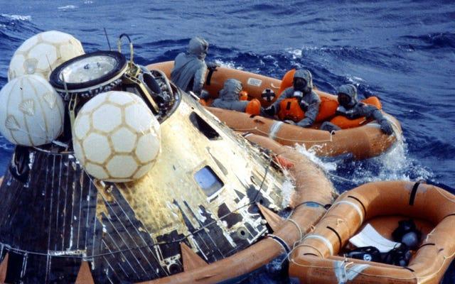 NASA가 생각한 첫 번째 달의 우주 비행사에게 일어날 수있는 나쁜 일들이 있습니다.