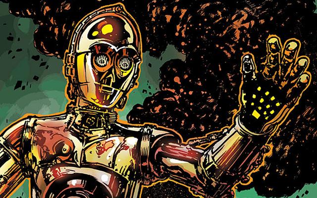 Así que ahora sabemos cómo C-3PO consiguió su brazo rojo en The Force Awakens