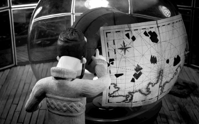 Il a fallu sept ans pour faire ce joli court métrage sur la découverte d'un gardien de phare
