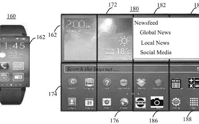 IBM fait breveter une montre intelligente qui se transforme en un écran géant de tablette gênant sur votre poignet