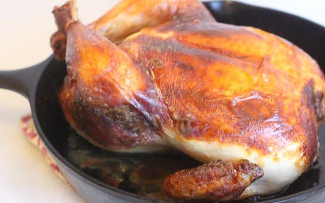 あなたの鶏肉をさらに味付けしてください、あなたは臆病者です