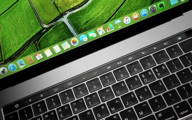 Comment désactiver la barre tactile du MacBook Pro