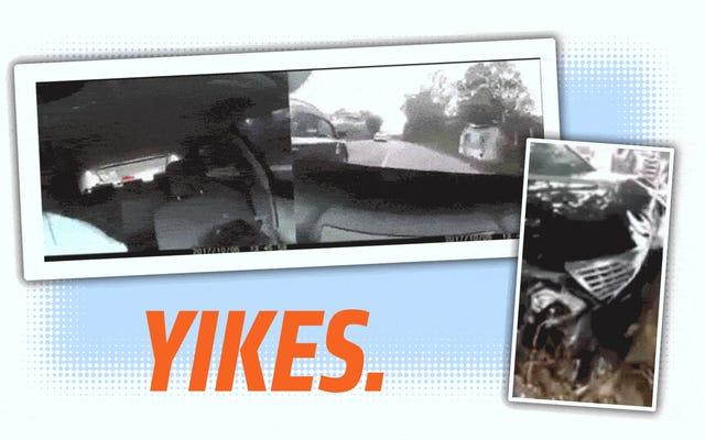 Dashcam Menangkap Karyawan Cuci Mobil Mengemudi Mobil Pelanggan Seperti Maniak Dan Merusaknya