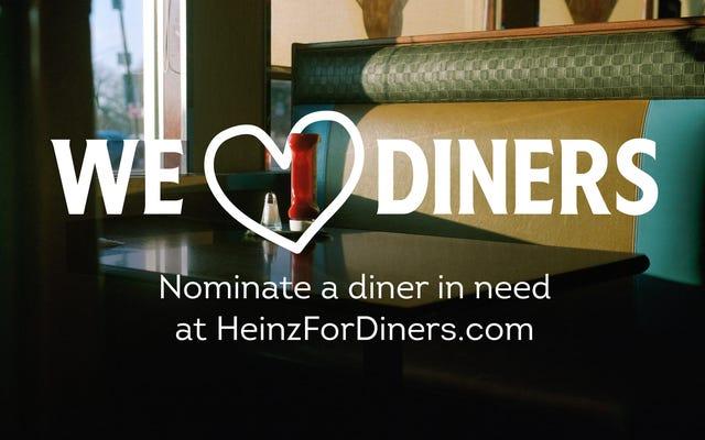 Heinz akan menyumbangkan $ 1 juta untuk mendukung pengunjung yang kesulitan